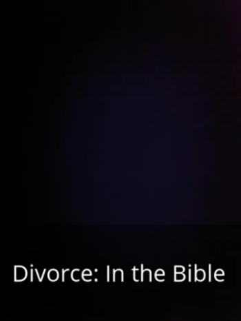audio book - Divorce in the Bible Corinthians