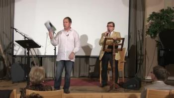 Harold Eatmon at the Hotel Arthur 06.09.2014 at 18.30 Part 2 Baptizing with fire