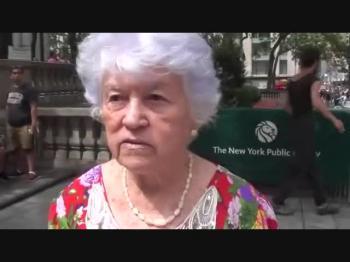 Dona Rosinha em New York