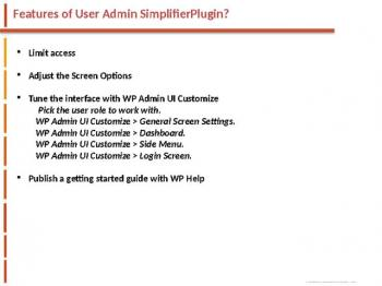 User Admin Simplifier websitecreationhub.com