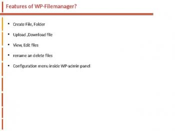 Wordpress Filemanager websitecreationhub.com