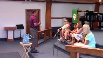 Pastor Mark Kimpland's Children's Sermon 8/28/16. Endwell UMC