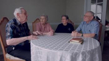 Part 2 of Group Of Residents at Greenway Village