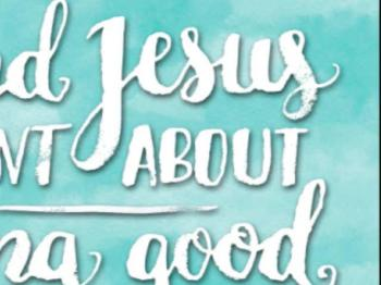 God Anointed Jesus