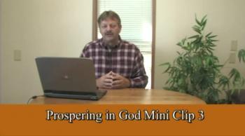 Prospering In God 3