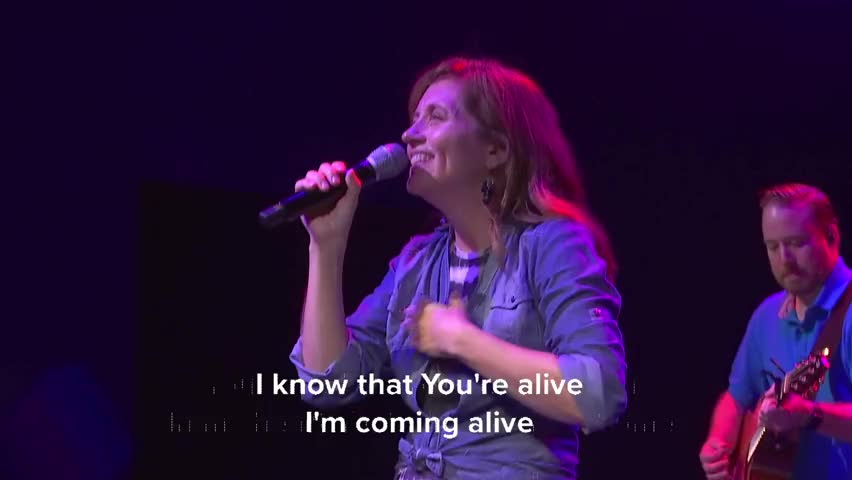 Jesus Is 'ALIVE' - Inspiring, Upbeat Worship From BART+TRICIA