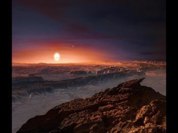 New Planet Proxima b Found Near Proxima Centauri