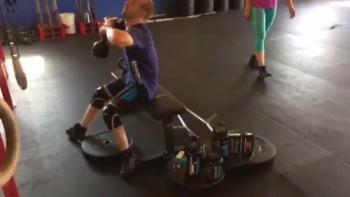 Man with cerebral palsy defying the odds through CrossFit