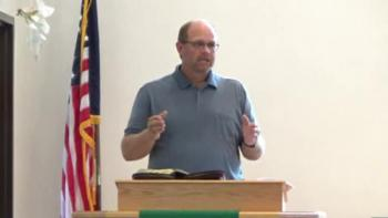 Sermon from August 7, 2016 - Steve Fischer