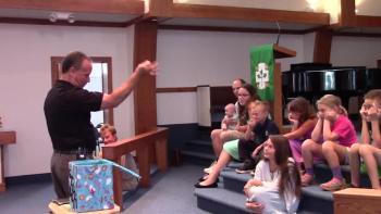 Pastor Mark Kimpland's Children's Sermon 8/21/16. Endwell UMC