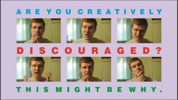 Are you creatively discouraged? This might be why