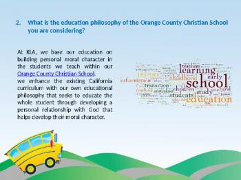 Best orange county christian school