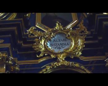 Piękno baroku - kościół św Barbary w Krakowie.