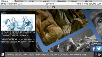 Escuela Sábatica Narrada: Sábado 24 de septiembre - El fin [Podcast]