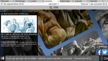Escuela Sábatica Narrada: Martes 27 de septiembre - La restauración [Podcast]
