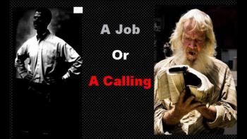 Prophetic Word  Job or A Calling