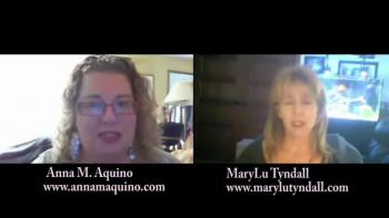 Real Solutions with Anna M. Aquino interviews author MaryLu Tyndall