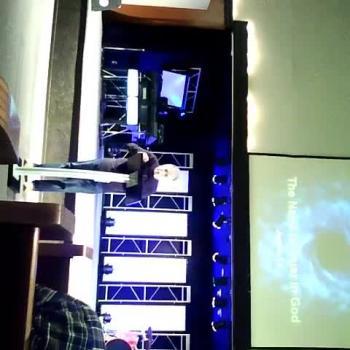 Pastor teaching on Joshua 1