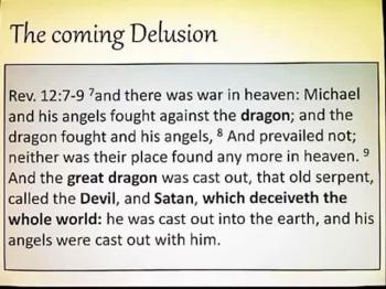 The Strong Delusion God will Send
