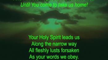 Your Holy Spirit Leads Us
