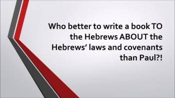 Who Wrote Hebrews?