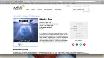 Mission Trip now available in audiobook