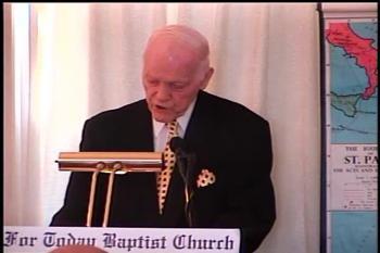 Commended By The Lord   – 2 Corinthians 10:10-18  –  Pastor D. A. Waite  –  BFTBC