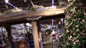 Bass Pro Shops. A dad's version of a trip to the day spa