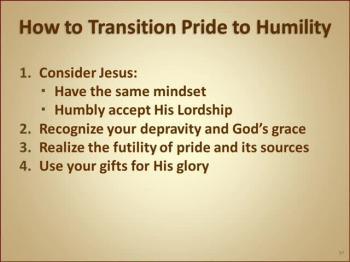 Pride (Session 4 of 4)