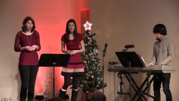 These teens did an awesome cover of Mary Did You Know