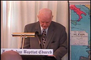 Paul's 32 Hardships For Christ   – 2 Corinthians 11:18-33  –  Pastor D. A. Waite  –  BFTBC