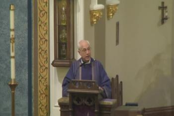 Msgr. Ken's Homily ~ Sunday, November 27, First Sunday of Advent