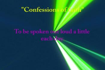 Confessions of faith!