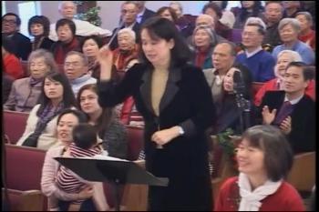 獻詩〈下〉:1.普世歡騰(會眾回應歌); 2. 到各山谷嶺傳揚(會眾齊唱) 2016年12月25日