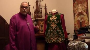 Fiddleback vestments / roman chasuble from PSG VESTMENTS