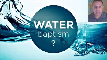 We Question Water Baptism - LLM