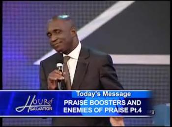 David Ibiyeomie Praise Boosters and Enemies of Praise