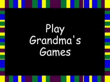 Play Grandma's Reading Games