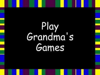 Play Grandma's Reading Games