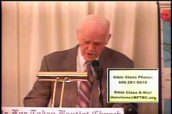 Faith Cometh By Hearing    –   Romans 10:6-17   –  BFTBC – Pastor D. A. Waite  Midweek Service – Thursday, January 19, 2017   Midweek service of the Bible For Today Baptist Church of Collingswood, New Jersey.  All midweek services are