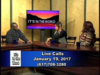 It's In The Word - 1.19.17 - Our Relationship With God