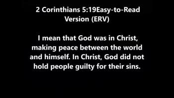 God was in Christ.c