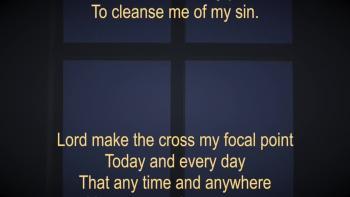 Faith To See The Cross