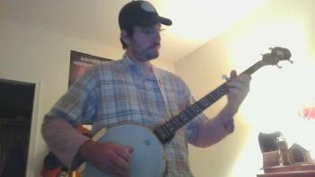 "Jeremiah Raines (banjo) -""I'll Fly Away"""