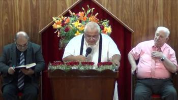 Iglesia Evangelica Pentecostal. Las pruebas forma en el Cristiano la imagen de Jesucristo. 15-01-2017