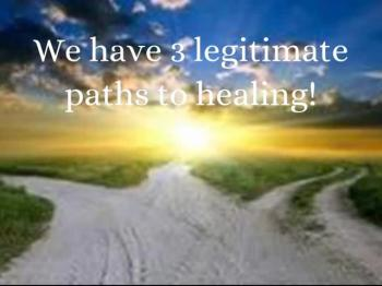 Three Paths to Healing