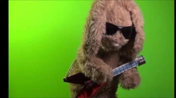 Guitar Bunny: Green Screen 7 seconds