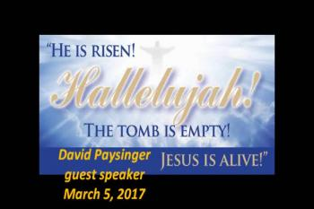 David Paysinger March 5, 2017
