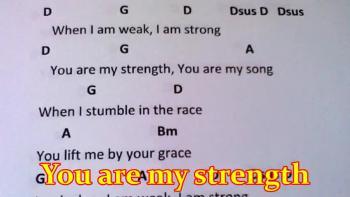 When I Am Weak I Am Strong