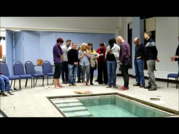 Chlowie & Richard's Baptism.